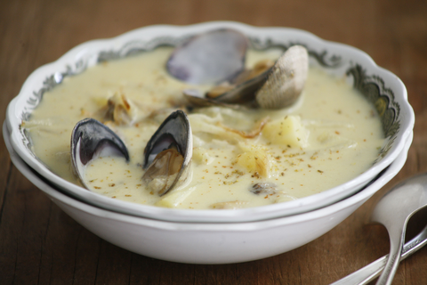 Corn Clam Chowder